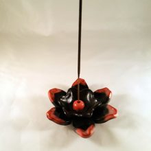 Double Flower Incense Burner